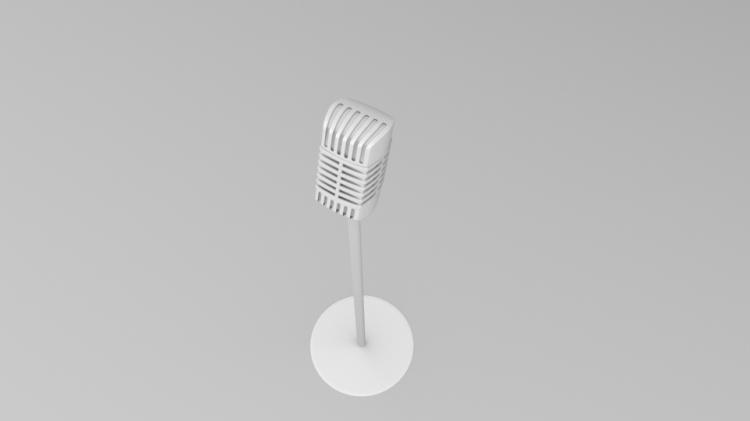 VintageMicrophoneRender3